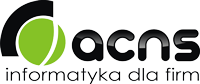 ACNS Informatyka dla firm Logo